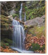 Buttermilk Falls Wood Print