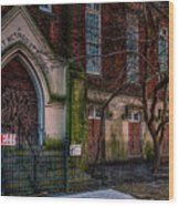 Buy Felicity Methodist - Nola Wood Print