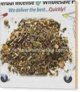 Buy Herbal Incense In Great Number At Wholesale Prices Wood Print