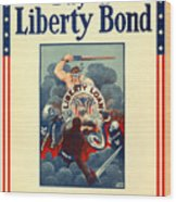 Buy Liberty Bonds Wood Print