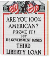 Buy U.s. Government Bonds Wood Print