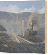Bwllfa Dare Colliery Wood Print