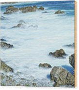 By The Sad Sea Waves Wood Print