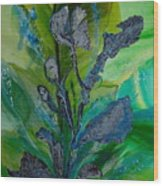 By The Sea Wood Print