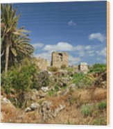 Byblos Castle, Lebanon Wood Print