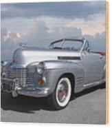 Bygone Era - 1941 Cadillac Convertible Wood Print