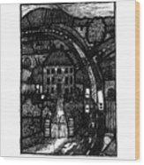 Bypass Wood Print