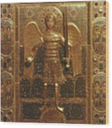Byzantine Art: St. Michael Wood Print
