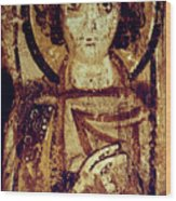 Byzantine Icon Wood Print by Granger