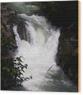 Bz Falls 1 Wood Print