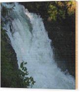 Bz Falls 2 Wood Print
