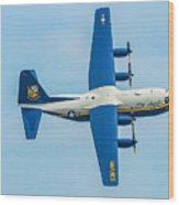 C-130 Fat Albert Wood Print
