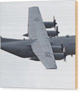 C-130 Hercules Wood Print