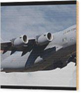 C-17 Globemaster IIi Poster Wood Print
