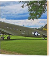 C-47 Special Delivery Wood Print
