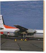 C-7, Netherlands Air Force, Rnaf, Nederlandse  Wood Print