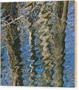 C And O Abstract Wood Print