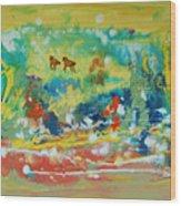 C Est La Vie Wood Print