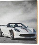 C7 Z06 Corvette Wood Print
