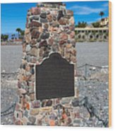 Ca-442 Death Valley 49ers Gateway Wood Print