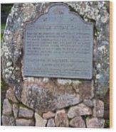 Ca-779 Rockville Stone Chapel Wood Print