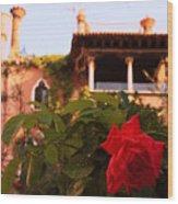 Ca' Dario in Venice with Rose Wood Print