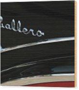 Caballero Wood Print