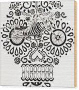 Cabeza De Vaca-cicleta Wood Print