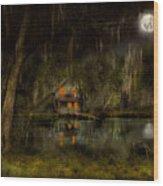 Cabin - De Land, Fl - Restless Night 1904 Wood Print
