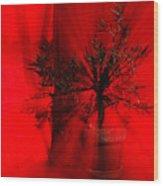Cabin Fever Dance Wood Print