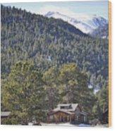 Cabin Light Wood Print