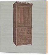 Cabinet Wood Print