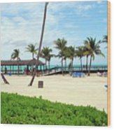 Cable Beach Wood Print