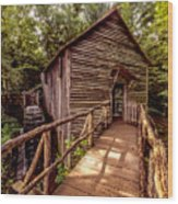 Cable Grist Mill Wood Print