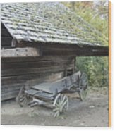 Cable Mill Barn Wood Print