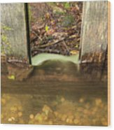 Cable Mill Flume 1 A Wood Print