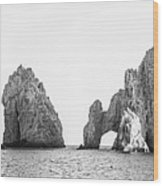 Cabo Arch  Wood Print