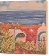 Cabo Garden Wood Print