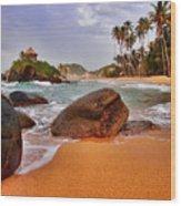 Cabo San Juan Wood Print