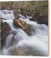 Cabot Head Waterfall Wood Print