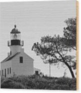 Cabrillo Lighthouse 3 Wood Print