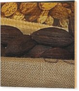 Cacao Pods Wood Print