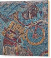 Cacaxtla Warrior I Wood Print