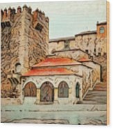 Caceres Spain Artistic Wood Print