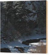 Cache La Poudre Riv M 27 Wood Print
