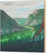 Cache Le Pudre Valley Wood Print