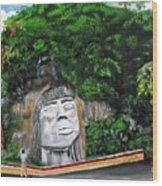 Cacique Mabodomaca Wood Print