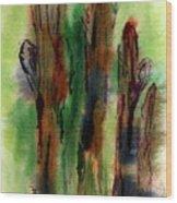 Cactus Coolers Wood Print
