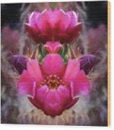 Cactus Flower 07-02 S08 Wood Print