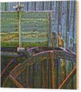 Cades Cove Mill No 2 Wood Print